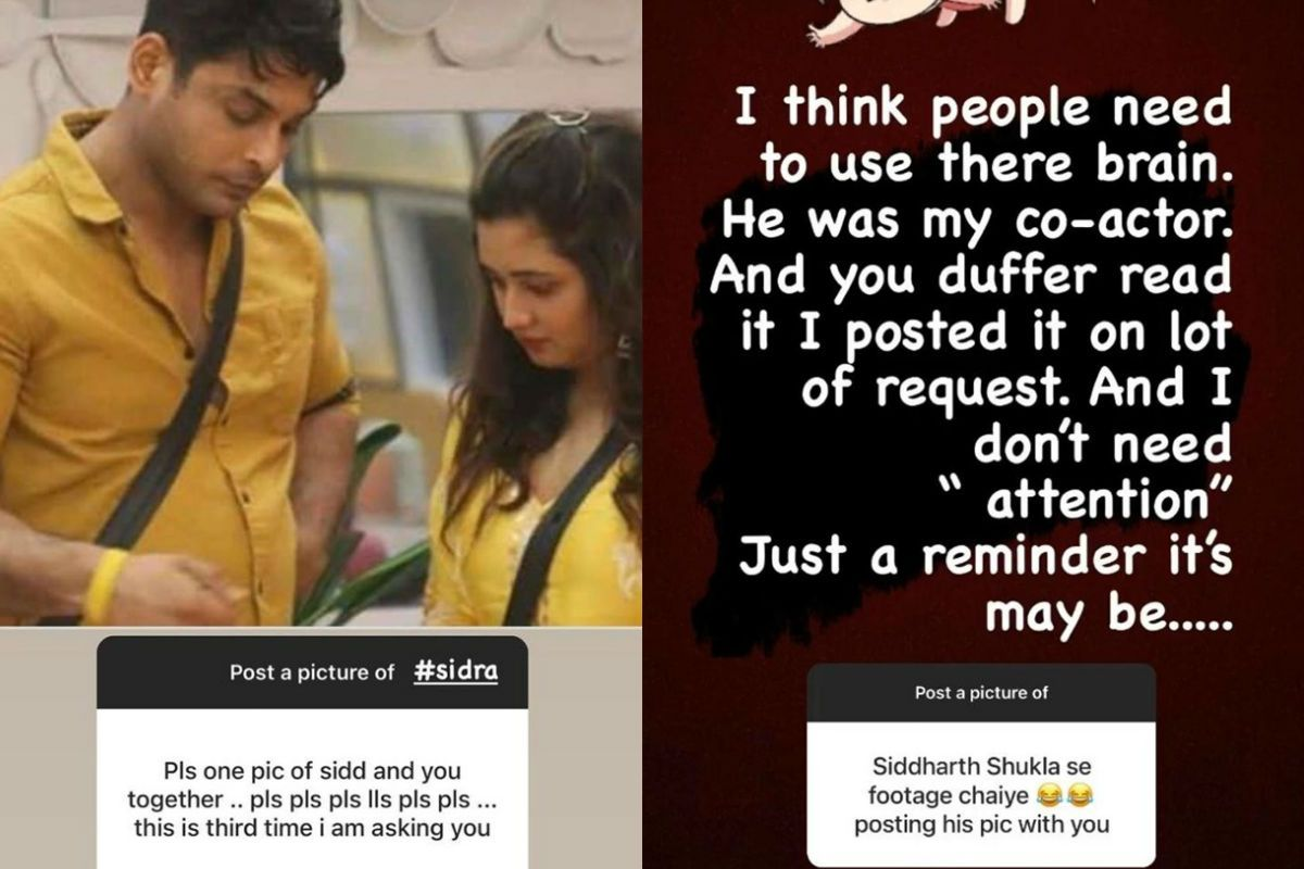 Sidharth Shukla's Fan Trolls Rashami Desai For Sharing Her Picture With Him, She Gives Back Like a Boss!