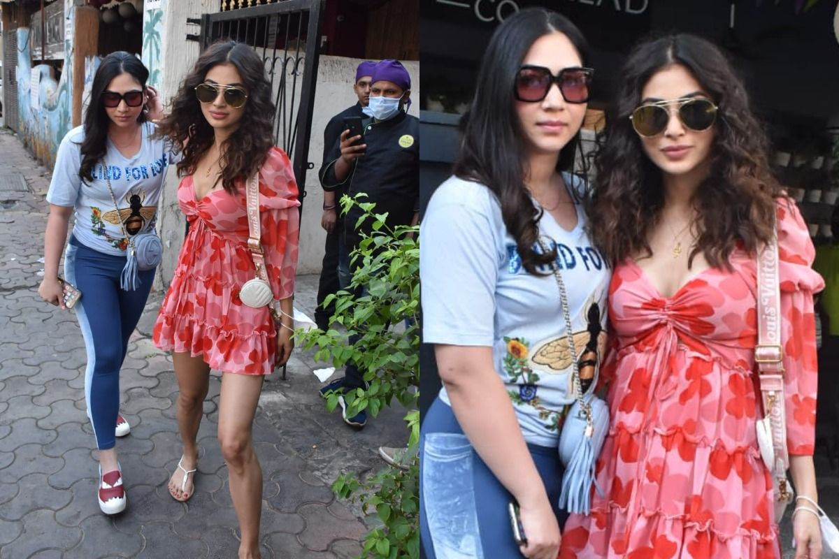Mouni Roy Spreads The Valentine's Day Cheer in Her Mini-Dress With Hearts All Over - See Pics