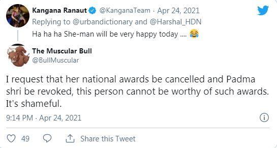 Netizens Troll Kangana