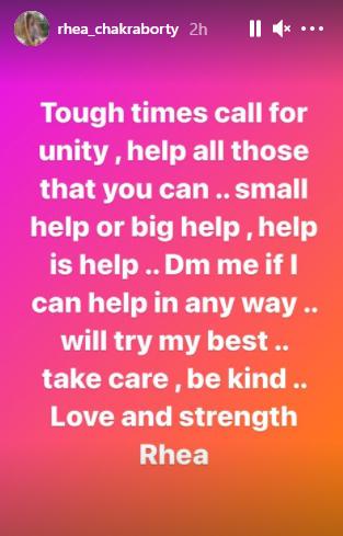(Credits: Rhea Chakraborty/Instagram)