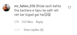 Nidhi Bhanushali Aka Sonu's post is loved by fans.