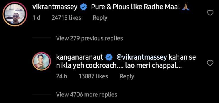 Kangana Ranaut's Reply