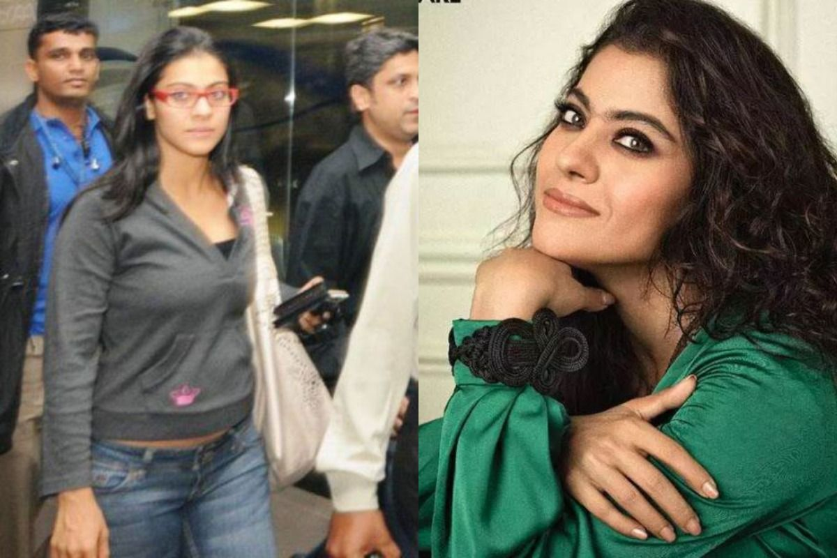 Actor's Shocking Before and After Makeup Photos - Kajol