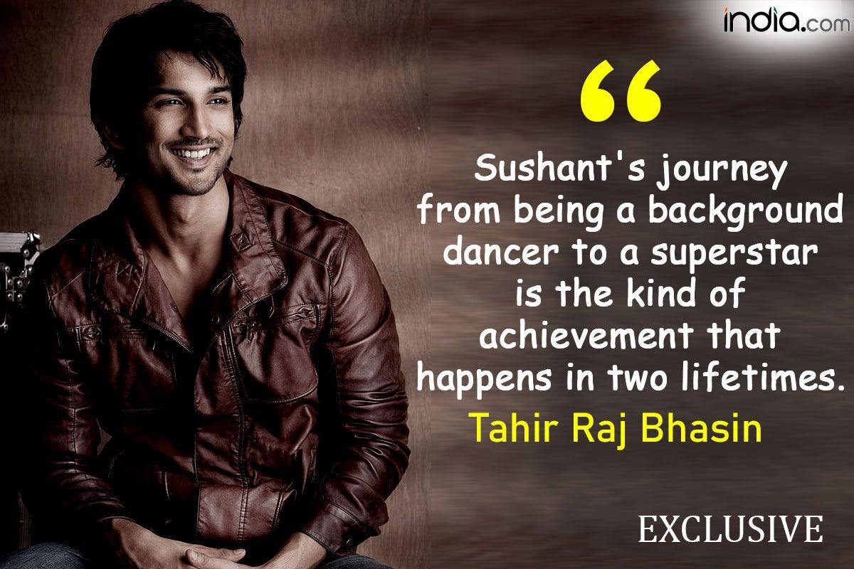 Sushant Singh Rajput Would Break Into Shah Rukh Mode in a Snap: Tahir Raj Bhasin | Exclusive