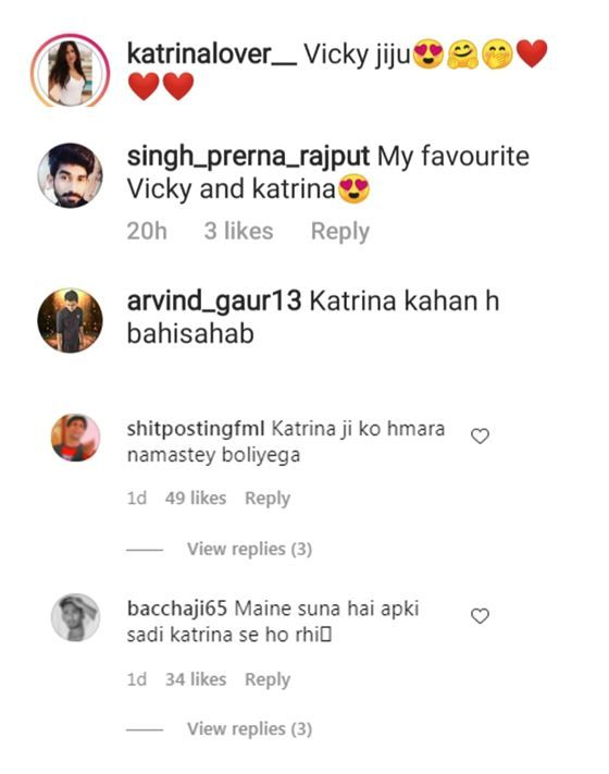 Katrina Kaif's Fans Tease Vicky Kaushal With 'Jiju' Comments After Harshvardhan Kapoor Confirmed Their Relationship