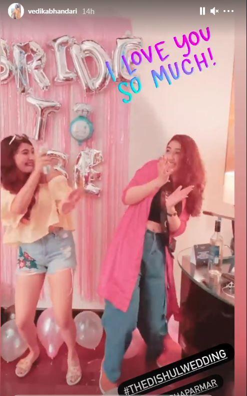 Disha Parmar's Bachelorette Party Photos
