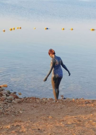 Munmun Dutta Takes Famous Mud Bath