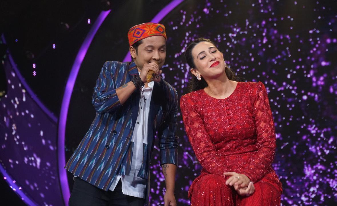 A Still From The Upcoming Episode of Indian Idol 12