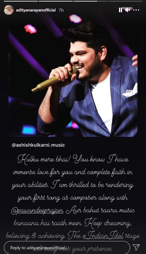 Indian Idol 12: Aditya Narayan reveals he is composing a song for Ashish Kulkarni and Pawandeep Rajan