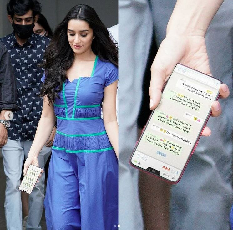 Shraddha Kapoor Fans Slam Paps For Leaking Actor's Personal WhatsApp Chat