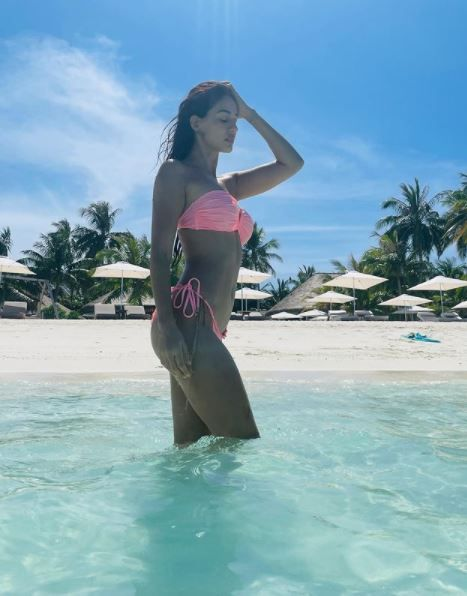 Disha Patani In Throwback Picture From Maldives