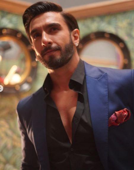 Ranveer Singh Looks Dapper All Suited Up