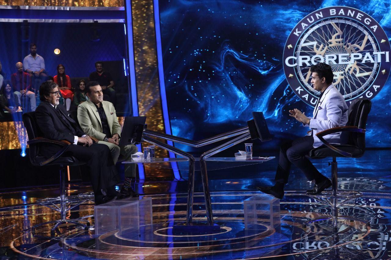 Sourav Ganguly-Virender Sehwag Make Amitabh Bachchan Sit On Hot Seat