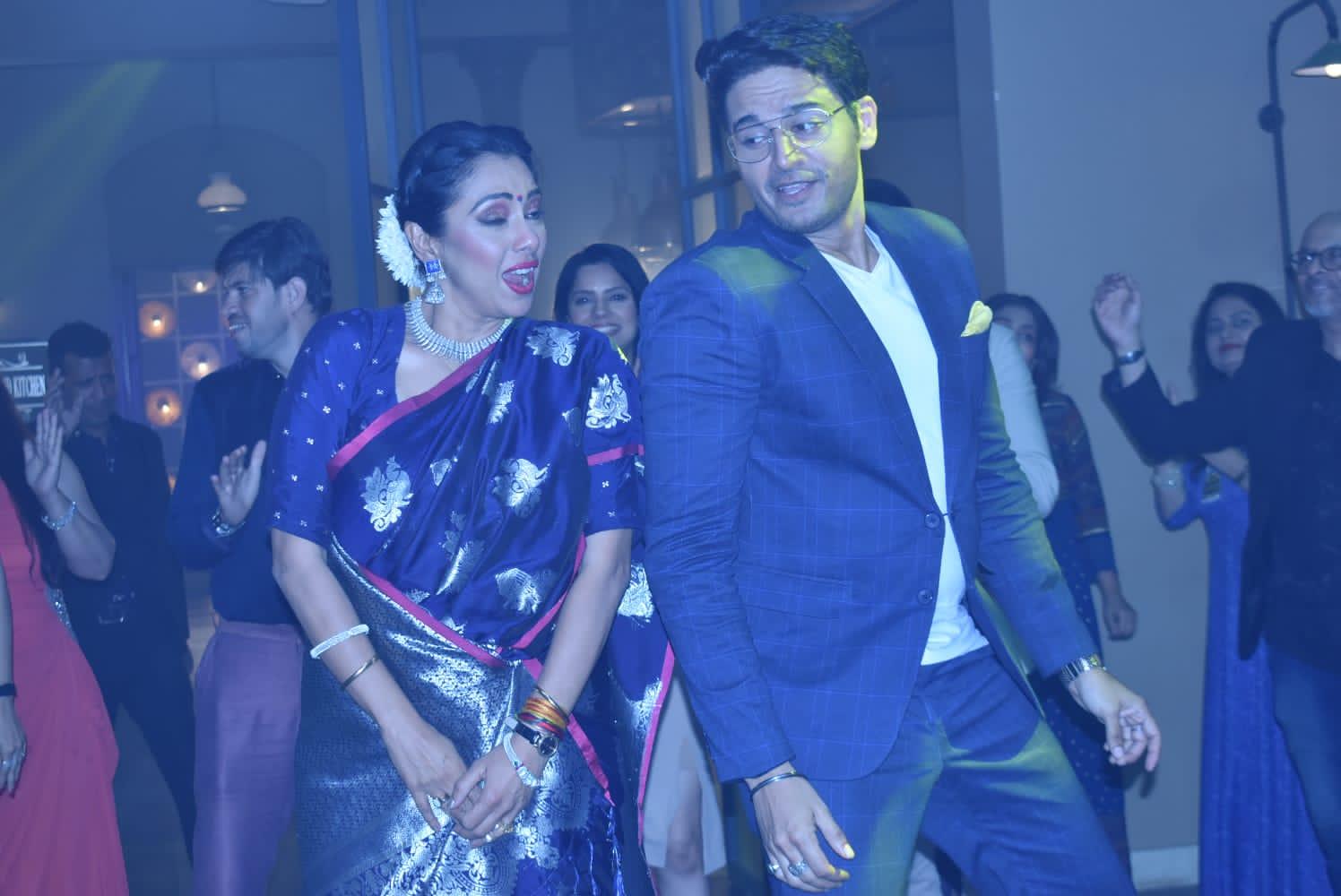 Anupama dances with Anuj Kapadia in the upcoming episode (Picture Credits: Prashant Golecha)