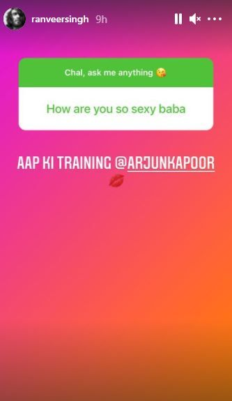 Arjun Kapoor Also Joins Ranveer Singh's Ask Me Anything Session