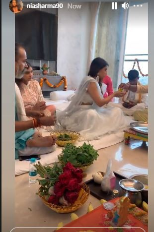 Nia Sharma Moves in Her New Beautiful White House PC: Instagram.com/niasharma90