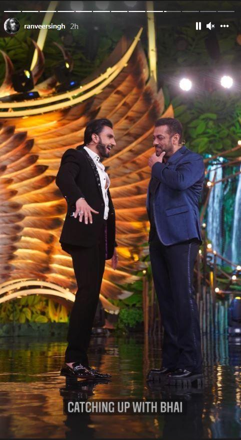 Bigg Boss 15 Premiere: Ranveer Singh Calls Salman Khan 'Gem'