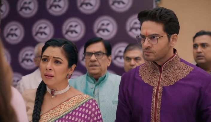 Vanraj's outburst on Anuj-Anupama