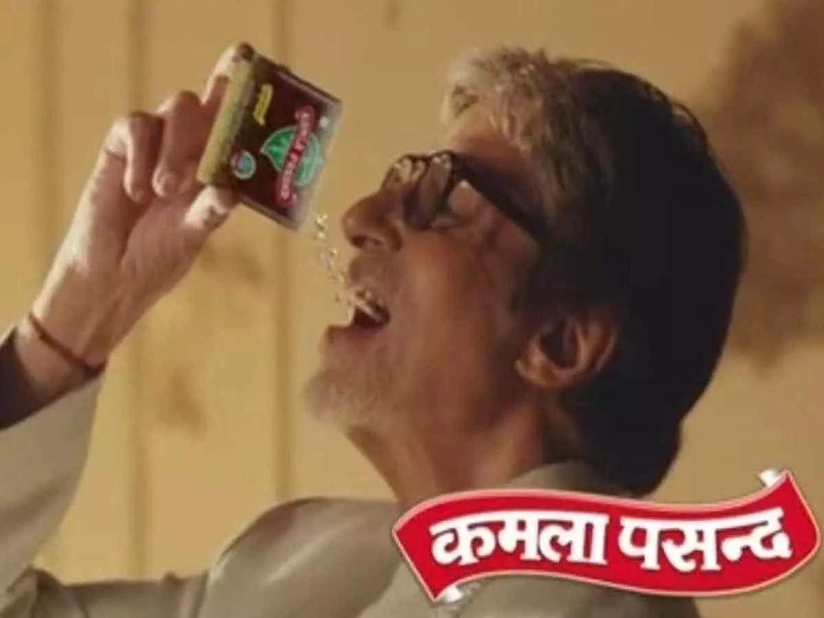 Kamla Pasand Paan Masala Ad features Amitabh Bachchan