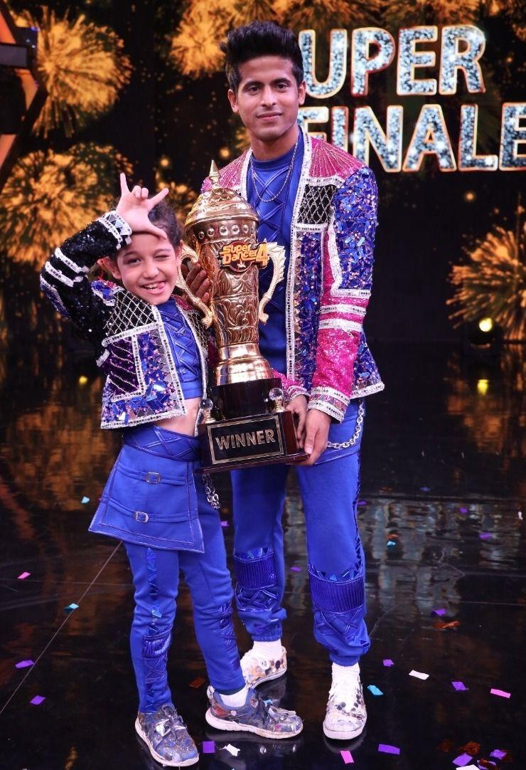 Super Dancer Chapter 4 Winner Florina Gogoi Lifts Trophy