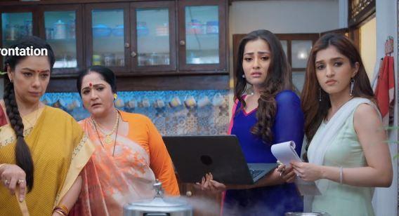 Vanraj and Kavya get into an argument and Baa blames Anupama for it