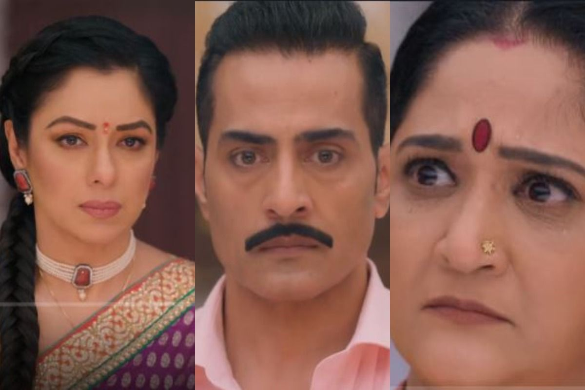 Baa is angry after seeing Anupama and Vanraj performing rituals together