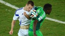FIFA World Cup 2014 Match In Pics: Nigeria vs Bosnia and Herzegovina