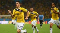 James Rodriguez brilliance helps Colombia beat Uruguay 2-0 to book Brazil quarter-final meet