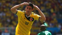 James Rodriguez inspires Colombia to brink of last 16 after beating Ivory Coast 2-1