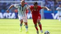 FIFA World Cup 2014 Match In Pics: Argentina vs Iran