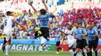 FIFA World Cup 2014 Match In Pics: Uruguay vs Costa Rica