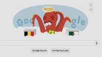 Paul the Octopus Google doodle: 'Psychic' octopus predicts Belgium vs Algeria winner ?