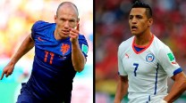 FIFA World Cup 2014, Netherlands vs Chile: Key players to watch