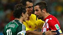FIFA World Cup 2014 Match In Pics: Croatia vs Mexico