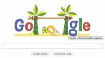 Google Doodle for Nigeria vs Bosnia and Herzegovina
