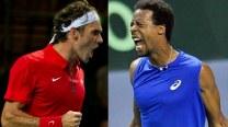 Roger Federer vs Gael Monfils Match 2 Live Streaming: Get Live Telecast of France vs Switzerland Davis Cup Final 2014