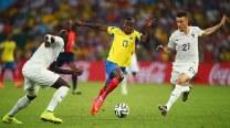 FIFA World Cup 2014 Match In Pics: Ecuador vs France