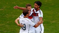 Thomas Muller's hat-trick helps Germany beat sorry Portugal