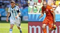 Lionel Messi, Arjen Robben aim to put down World Cup underdogs