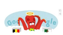 Google Doodle for Belgium vs Algeria: Paul the Octopus predicts result of the FIFA World Cup 2014 match!