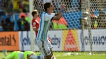 Who will replace Angel di Maria for Argentina?