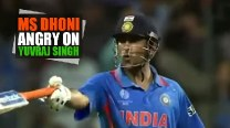 Does MS Dhoni lose temper? Watch Captain Cool lambast Yuvraj Singh in ICC Cricket World Cup 2011 final