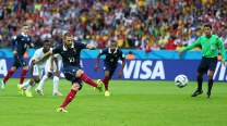 France beat Honduras 3-0 as goal-line technology makes history