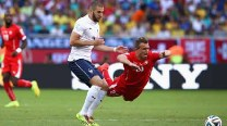 FIFA World Cup 2014 Match In Pics: Switzerland vs France
