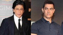 Shahrukh Khan calls Aamir Khan 'Aadha Actor' on Slam! The Tour