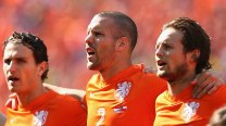 FIFA World Cup 2014 Match In Pics: Netherlands vs Chile