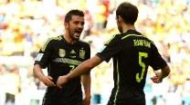 Spain restore pride with 3-0 win over Australia